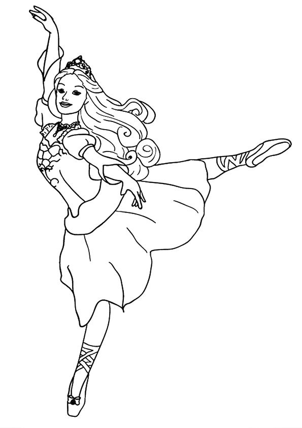 Realistic Princess Coloring Pages