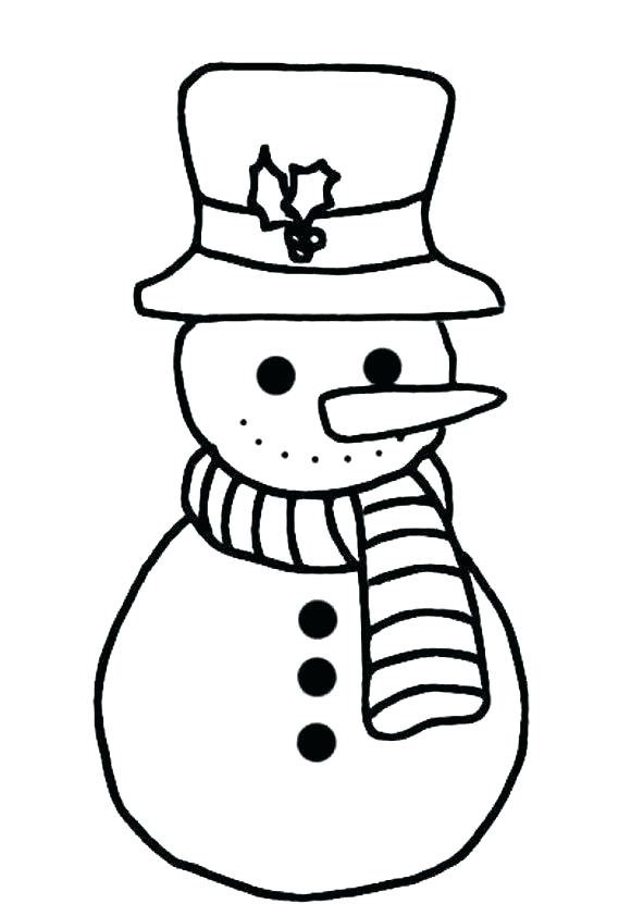 580x831 Free Snowman Coloring Pages Free Snowman Coloring Pages Snowman