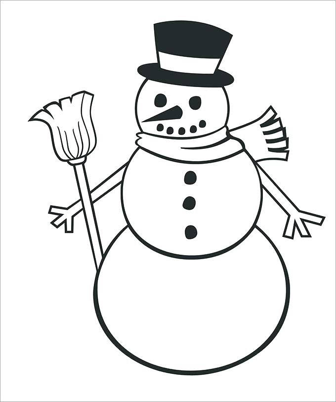 680x813 Season Coloring Pages Preschool Coloring Pages Winter Snowman