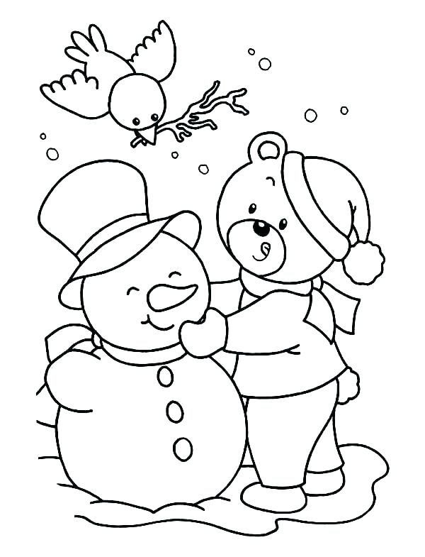 600x785 Snow Man Coloring Pages Free Printable Snowman Coloring Pages