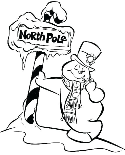 500x620 Snowman Coloring Pages Frosty The Snowman Snowman Coloring Pages