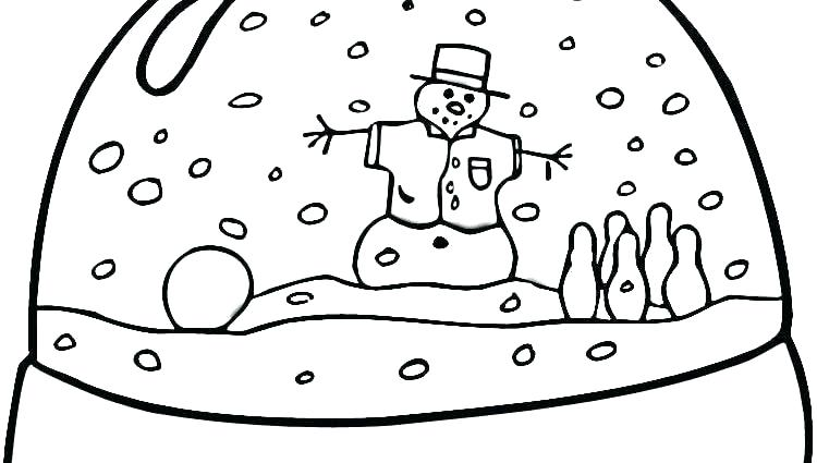 750x425 Best Winter Coloring Pages Images On Free Printable Snowman