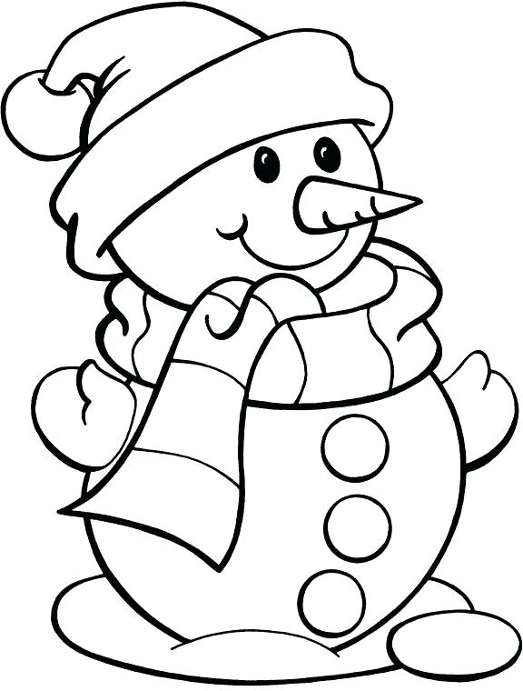 576x760 Snowman Reading Coloring Also Snowman Coloring Pages Kids 123
