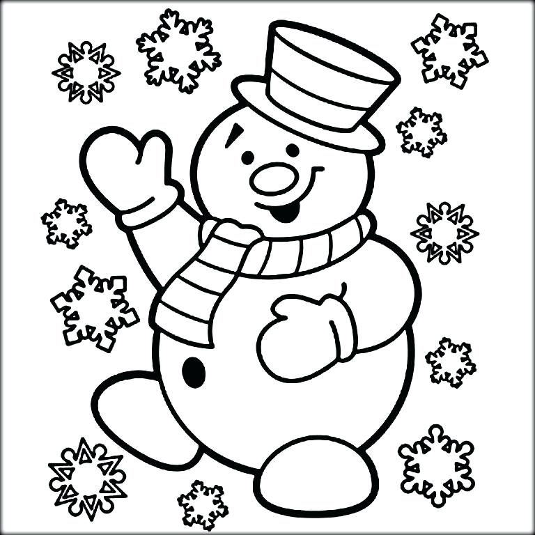 768x768 Coloring Page Snowman Coloring Pages Abominable Snowman Coloring