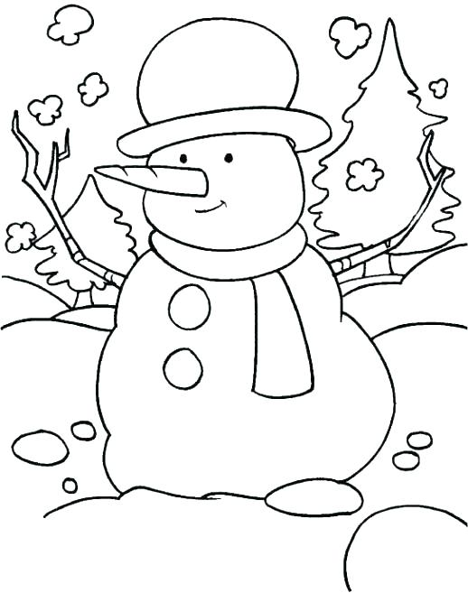 518x657 Coloring Page Snowman Snowmen Coloring Pages Medium Size