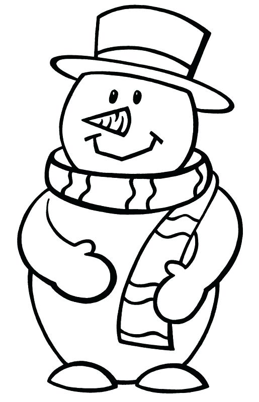 515x800 Fortune Snowman Pictures To Color Coloring Pages Bros Fortune