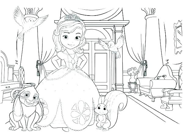Sofia The First Mermaid Coloring Pages at GetColorings.com | Free ...