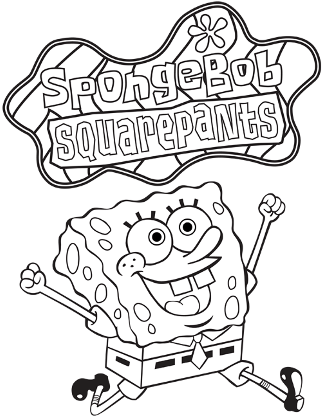 1055x1372 Nice Spongebob Squarepants Printables Cool Coloring Page Gallery