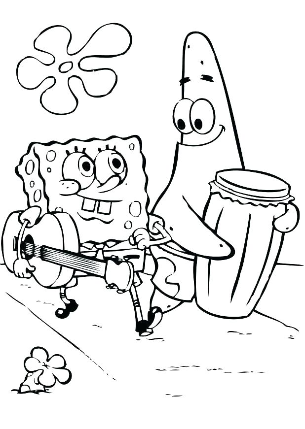 618x871 Printable Spongebob Coloring Pages And Coloring Pages Printable