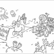 220x220 Spongebob Coloring Pages
