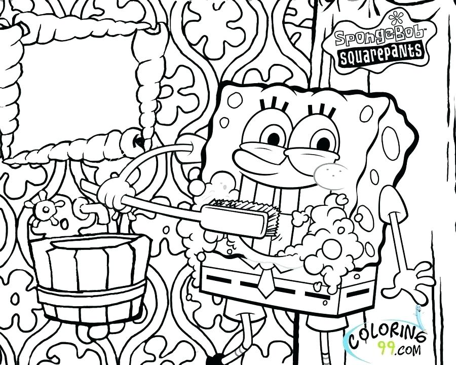 900x720 Spongebob Coloring Pages To Print Gangster Coloring Pages