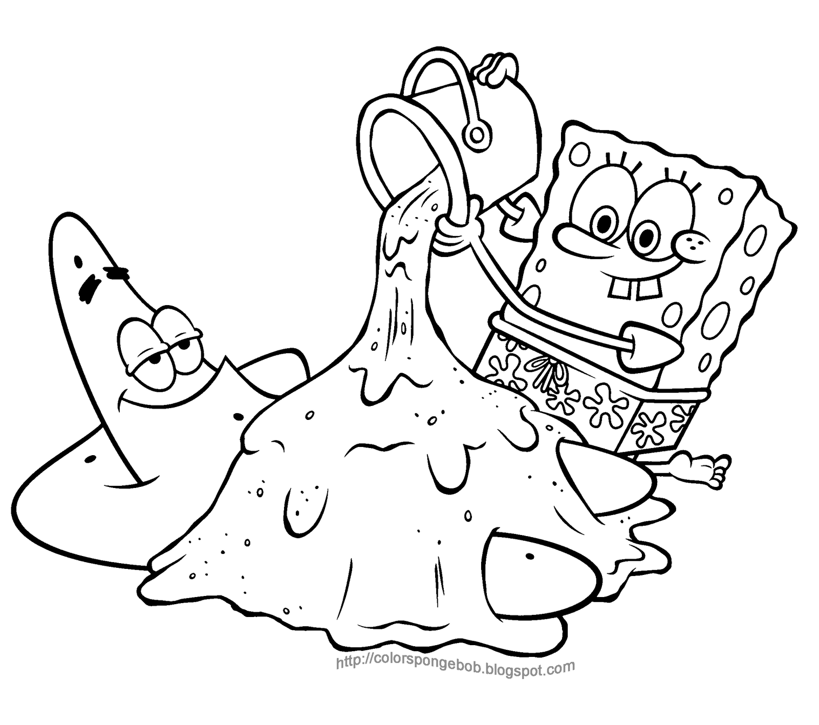 1600x1416 Best Of Lazy Patrick In Spongebob Printable S Bf E Coloring Pages