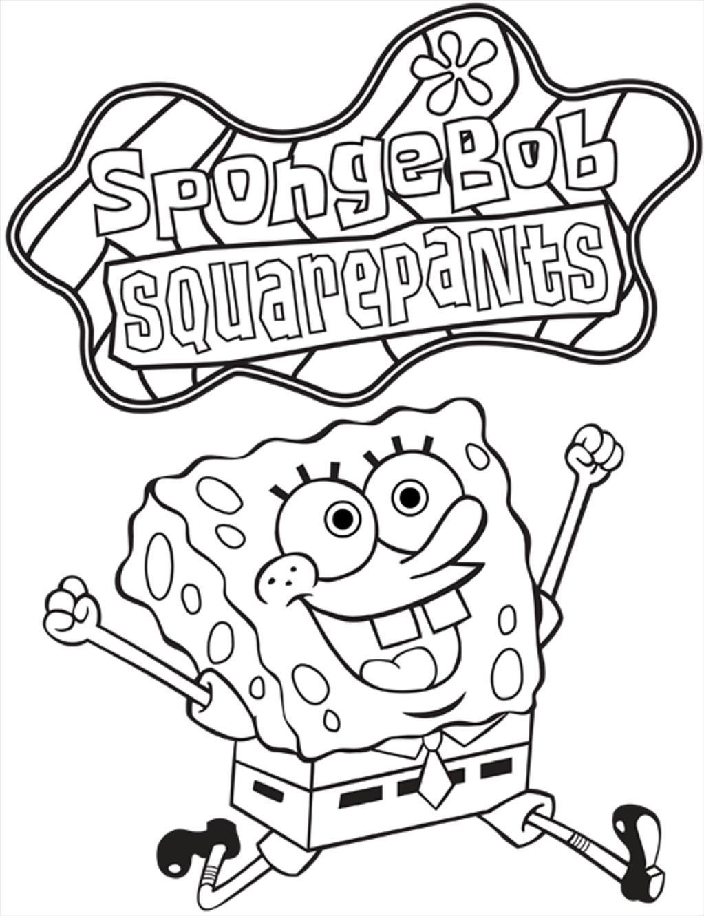 Spongebob Squarepants Coloring Pages To Print