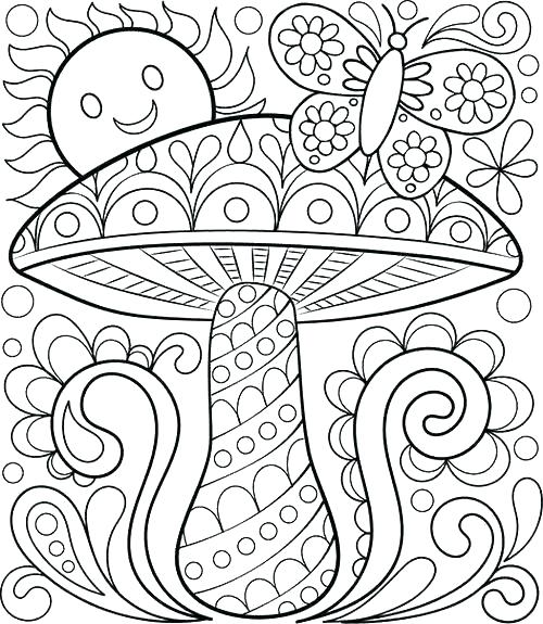 500x575 Coloring Printing Sheets Marvellous Design Spring Coloring Pages