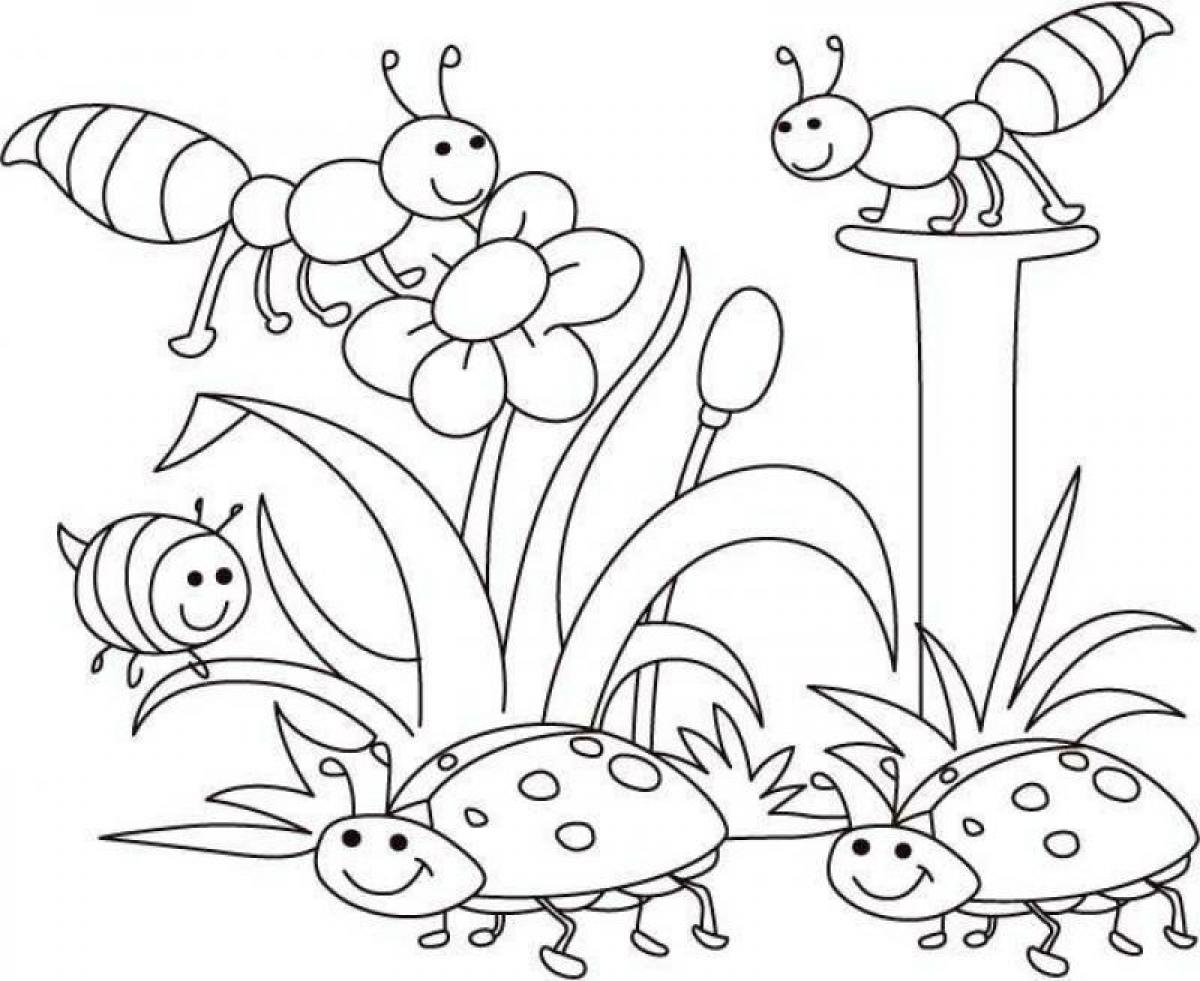 1200x981 Spring Coloring Pictures 19510 For Pages Free Printable
