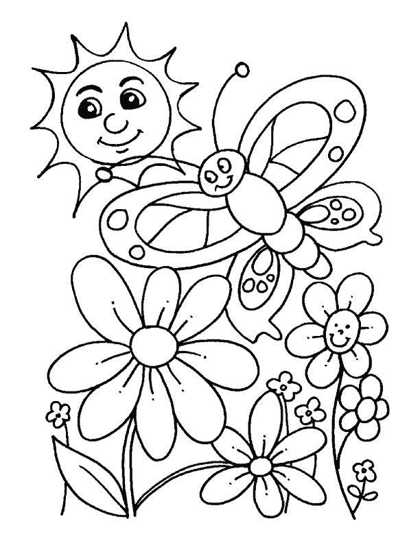 612x792 Spring Color Pages 9 Spring Coloring Pages Inspire Kids Add