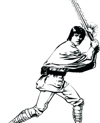 Star Wars Coloring Pages Luke Skywalker at GetColorings.com | Free ...
