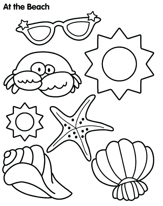 643x815 Beach Color Pages Beach Color Pages Summer Coloring Pages Kids