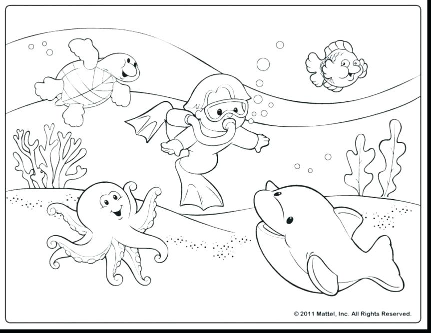 863x667 Printable Beach Coloring Pages Summer Coloring Pages For Kids