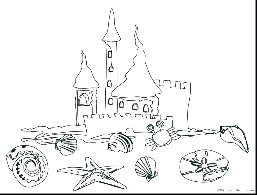 863x657 Printable Beach Coloring Pages Shippa.co