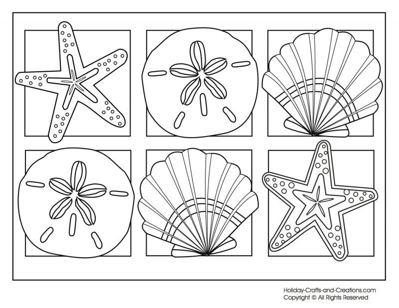 Summer Coloring Pages To Print Free