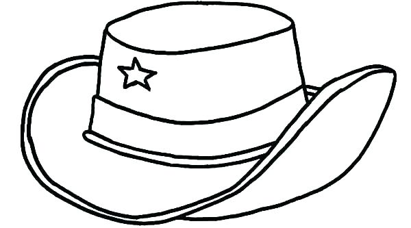 600x333 Hats Coloring Page Beautiful Hat For Girls