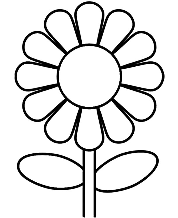 610x746 Lovely Sunflower Coloring Pages 2 To Print Printable For Kids
