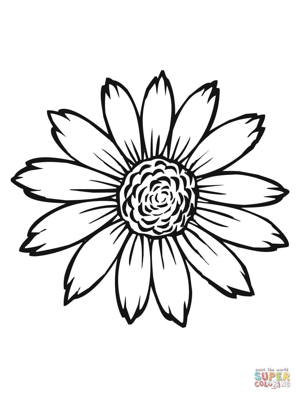 1200x1600 Luxury Sunflower Colouring Pages Coloring Of S