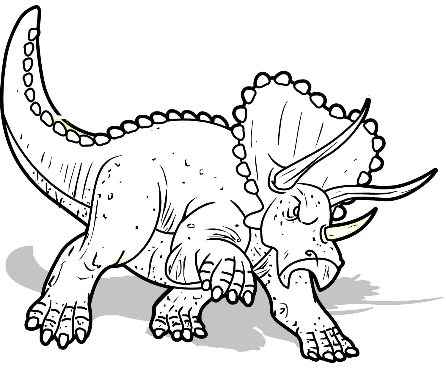 T Rex Dinosaur Coloring Pages at GetColorings.com | Free ...