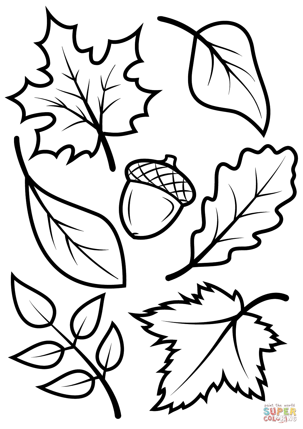 1060x1500 Happy Thanksgiving Leaves Coloring Pages To Print Coloring