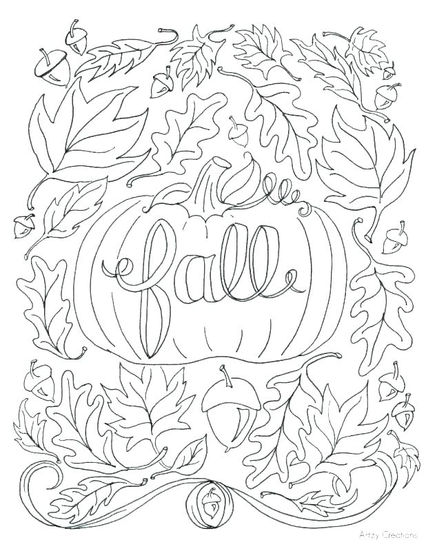 618x800 Coloring Pages Of Leaves Thanksgiving Leaves Coloring Pages Leaf
