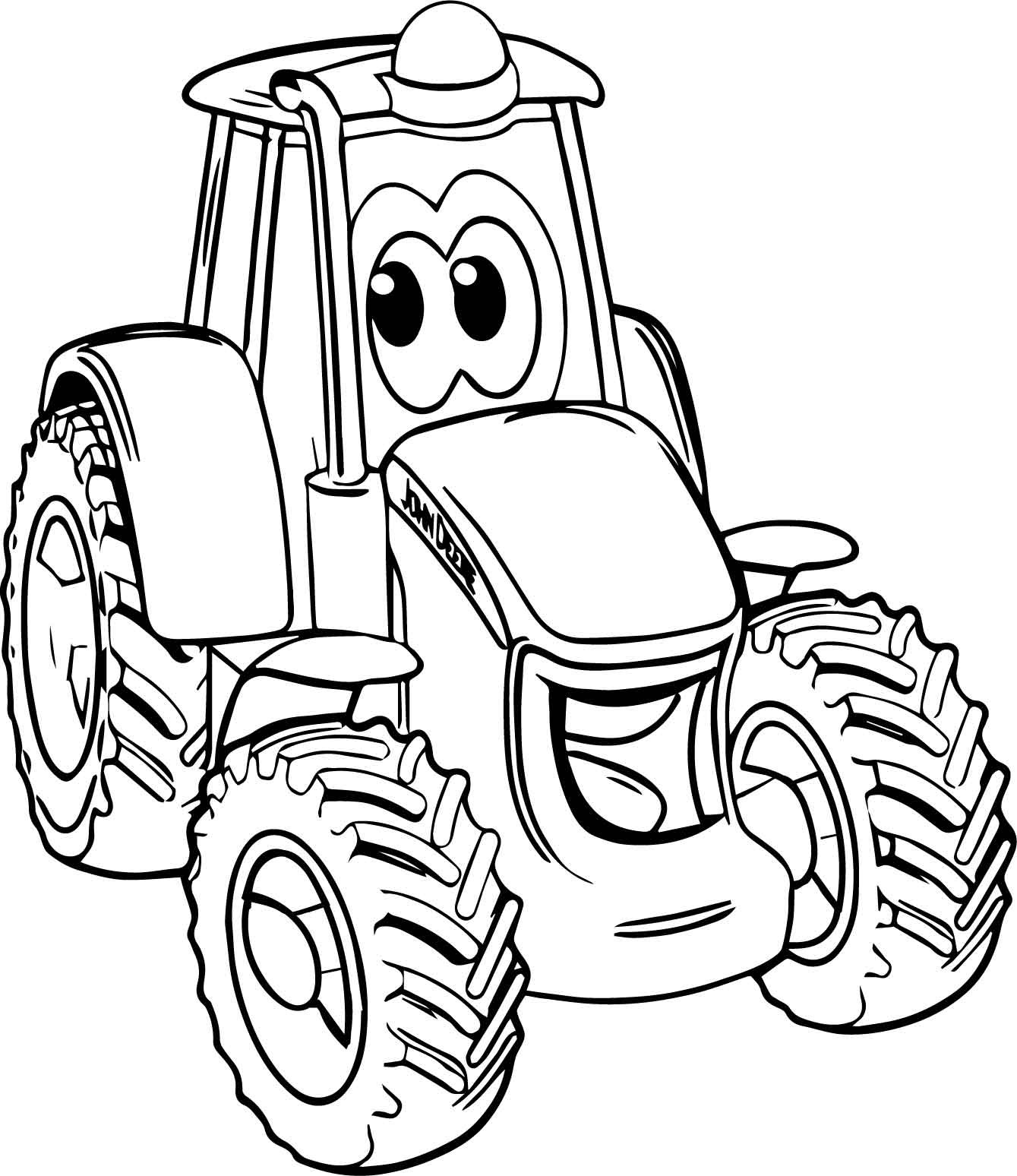 tractors coloring pages to print - photo#15
