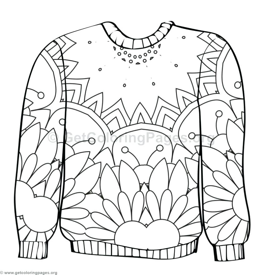 843x882 christmas jumper coloring pages ugly sweater coloring pages 2 ugly