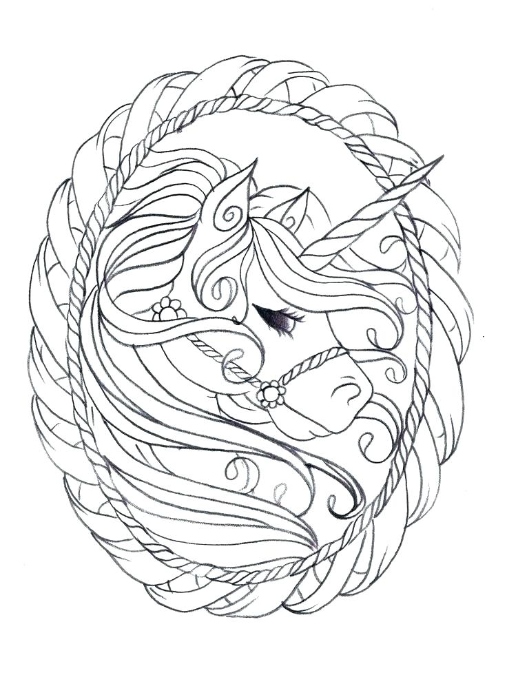 736x980 Unicorn Coloring Page Free Printable Unicorn Coloring Pages