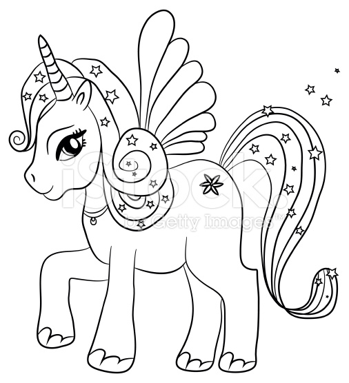 506x556 Best Unicorn Coloring Pages Free 1626 Printable