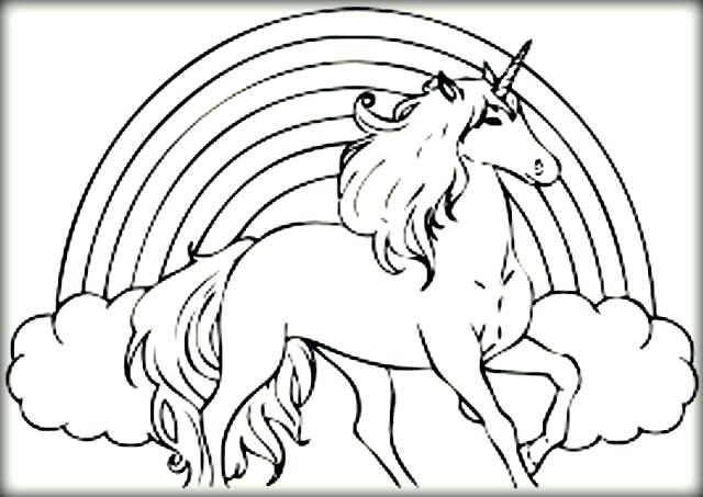 640x453 Unicorn Coloring Paper Also Unicorn Coloring Pages 384