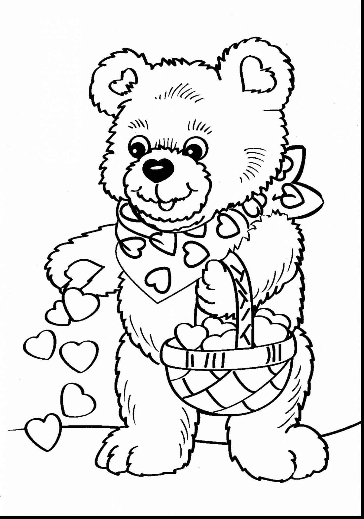 1224x1745 Inspiring Valentine Pictures To Color Printable Coloring Pages