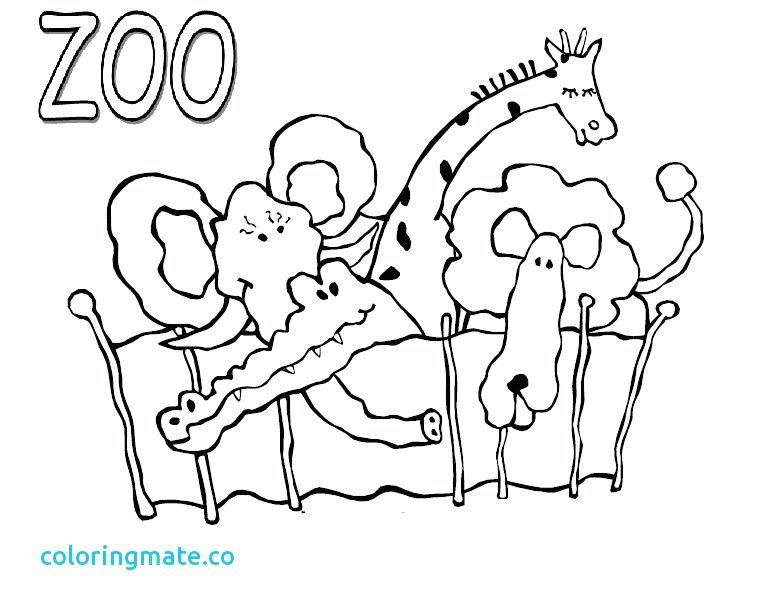 774x613 Popular Zoo Coloring Pages To Print Printable Zoo Animal Coloring
