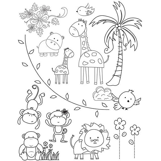 650x650 Top 68 Zoo Coloring Pages