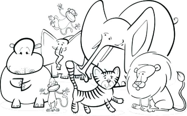 615x380 Zoo Animal Coloring Page Printable Zoo Animal Coloring Pages Zoo