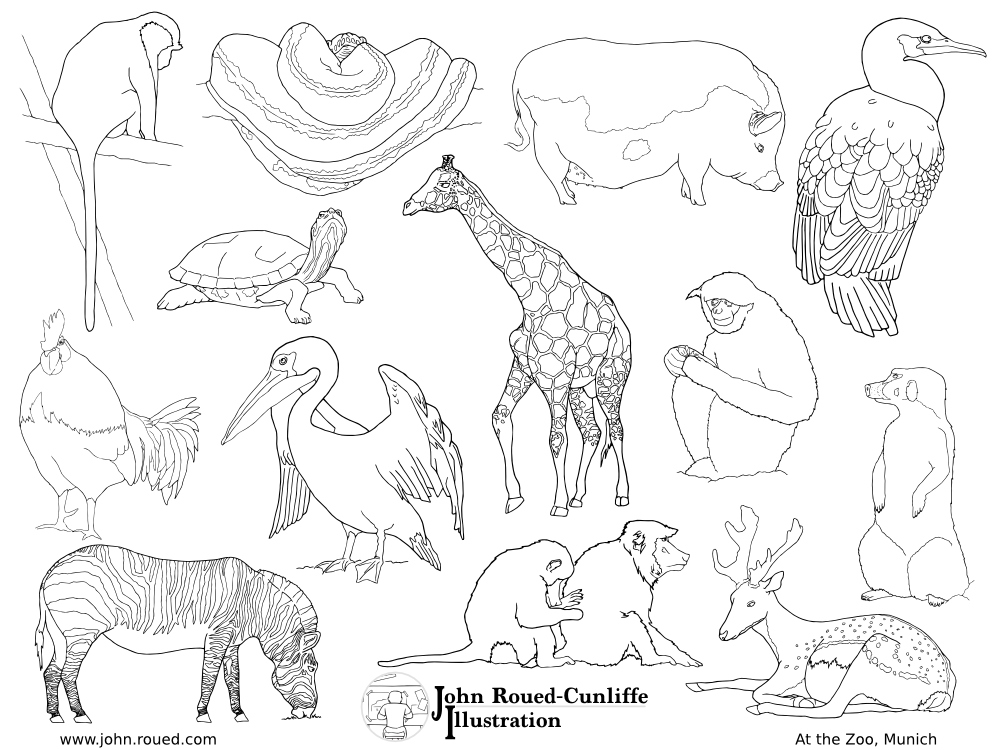 1000x750 Zoo Coloring Pages Fresh Empty Zoo Coloring Pages Coloring Pages