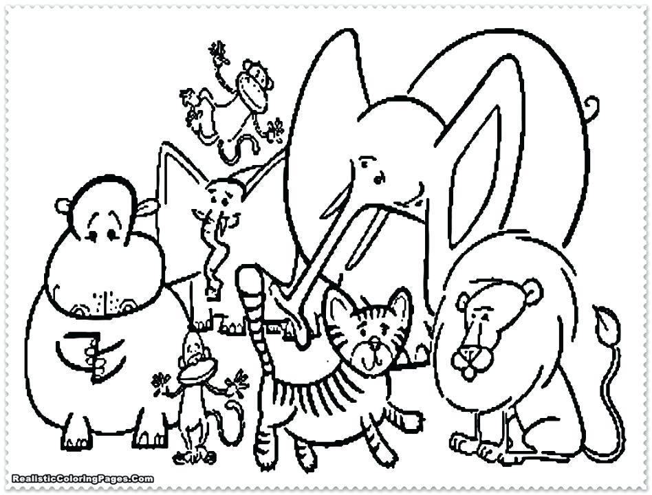 948x720 Zoo Coloring Pages